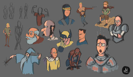 #sketch_daily #characters by Atheu