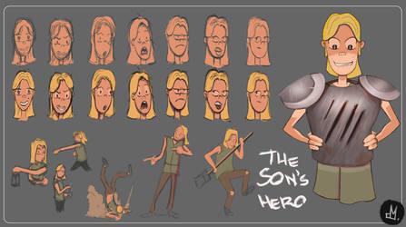 Son`s of the hero party - the son`s hero by Atheu