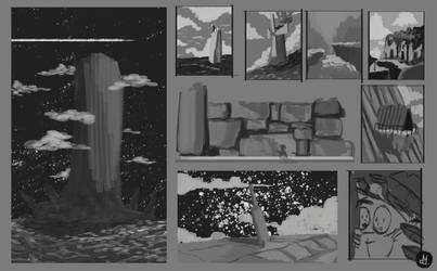 Sketch everyday -landscape by Atheu