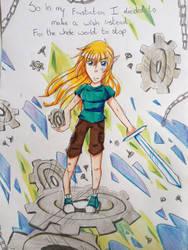 The iron Fey: gears by JingelChan