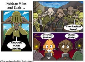 CHOOSE YOUR DEATH by DaemonBlitzkrieg