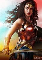 Wonder Woman 2017 by elirain