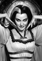 Lily Munster by elirain