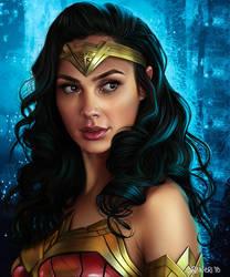 Wonder Woman 1984 by elirain