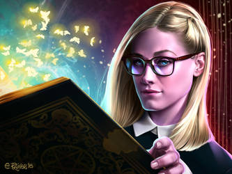 Alice Quinn - The Magicians Fan Art Contest by elirain