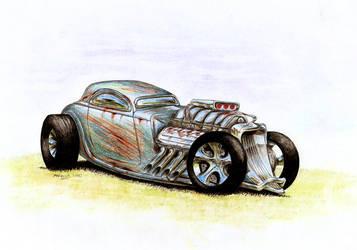 Concept Detonator - RatRod by Medvezh