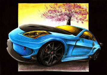 Nissan 350Z - Blossom of Hope by Medvezh