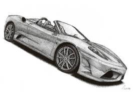 Ferrari Scuderia Spider 16M by Medvezh