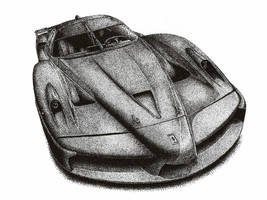 Ferrari FXX MS by Medvezh