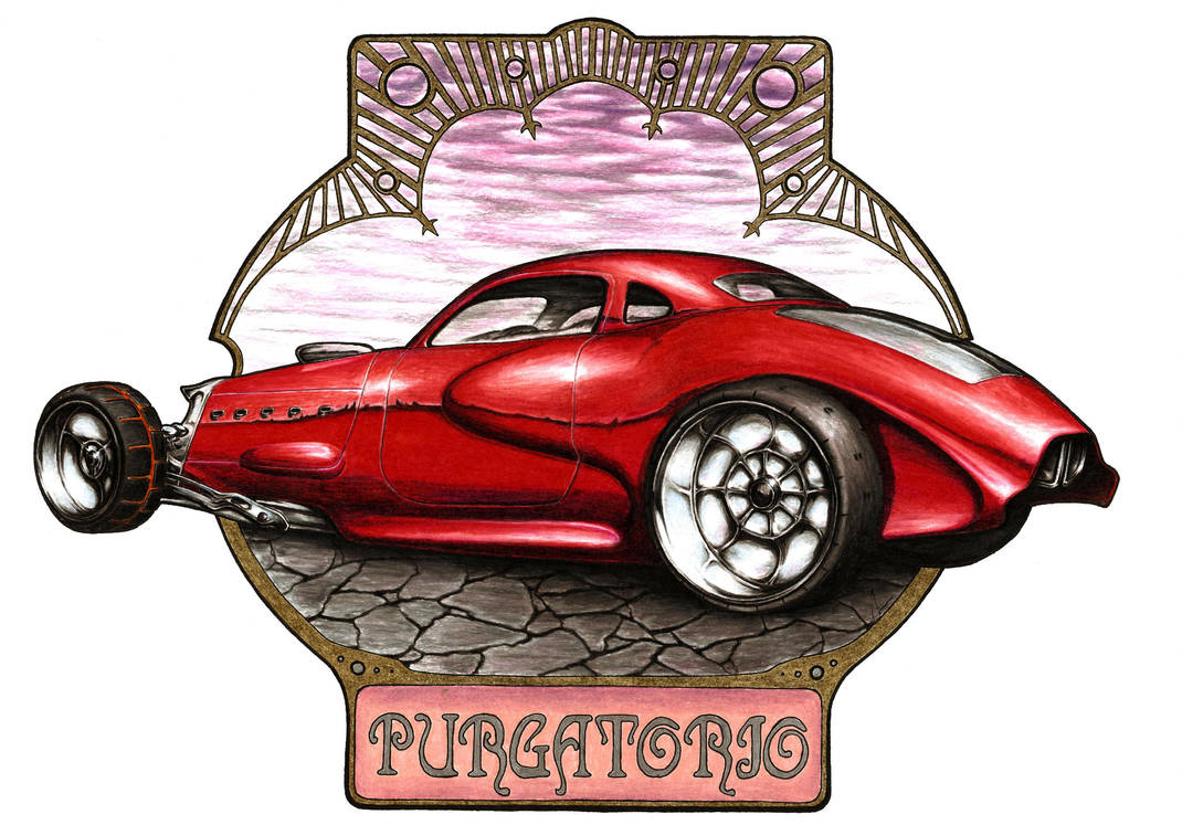 Purgatorio - Cantica II by Medvezh