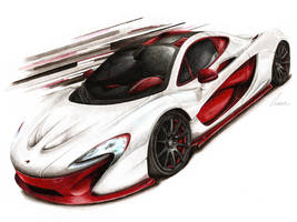 McLaren P1 Bespoke Project 8 by Medvezh