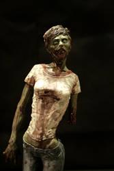 darla the zombie girl by kezeff
