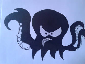 Black Kraken by ToonGuy5