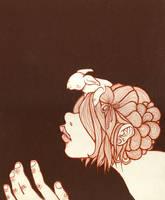 hair nest . by fuuu