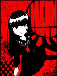Tegaki: Emily the Strange by isuzu9