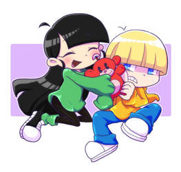 numbuh 3 and numbuh 4 by isuzu9