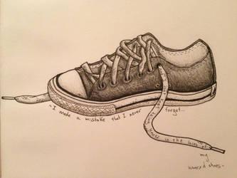 Worried Shoes by KiwiSeahorse