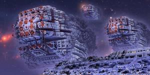 MengerBox Starships by MarkJayBee