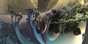 Crystalline Trees by MarkJayBee
