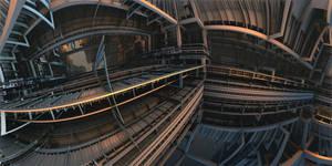 IndustrialConvolution by MarkJayBee