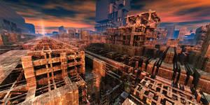 Ruination 1 by MarkJayBee