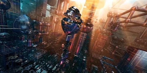 SpheriCity II by MarkJayBee