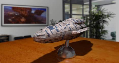 RPG Ship Model by MarkJayBee