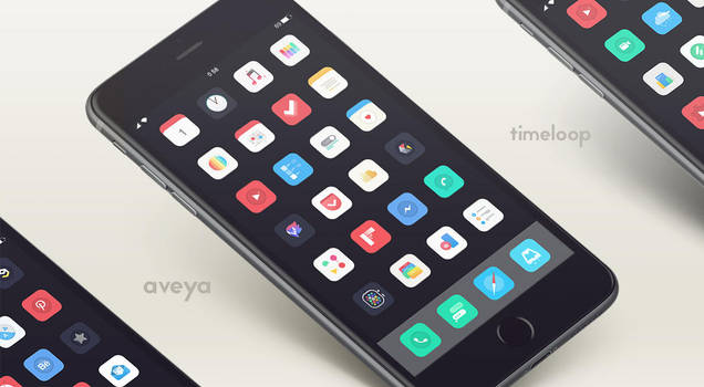 Aveya theme iOS 8 by thetimeloop