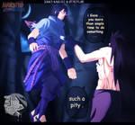 Naruto 661 - Sasuke death ? ( collap ) by Dark-strom
