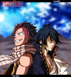 Natsu_and_zeref_ collab by Dark-strom