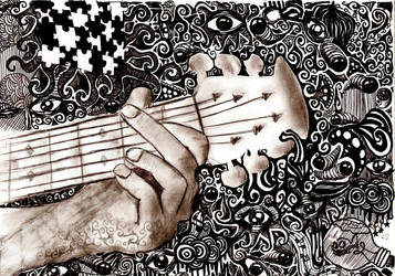 more than music fills the air by komamokoma