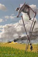 Martian War Machine - 2004 by Lonesome--Crow