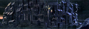 Gormenghast, Titus restored. by Lonesome--Crow