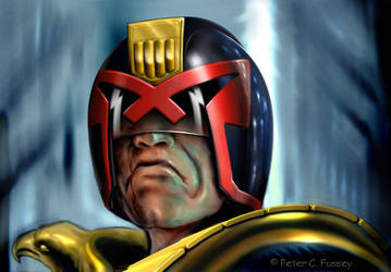 Judge Dredd by Lonesome--Crow
