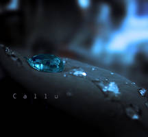 Soft Blue I by Callu