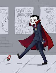 Sad Vampire by the-frizz