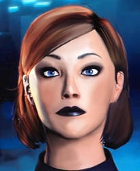 Touched up femshep icon by meetmeacrossthesea