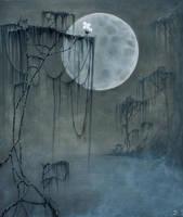 Moon by DoreenHillmann