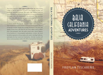 Book Cover: Baja California Adventure by marialegarde