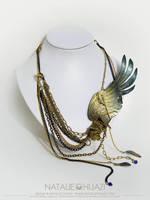NHJ: Freedom Found Necklace by NatalieHijazi