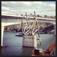 Goodbye Marble Falls Bridge by feariedaisy