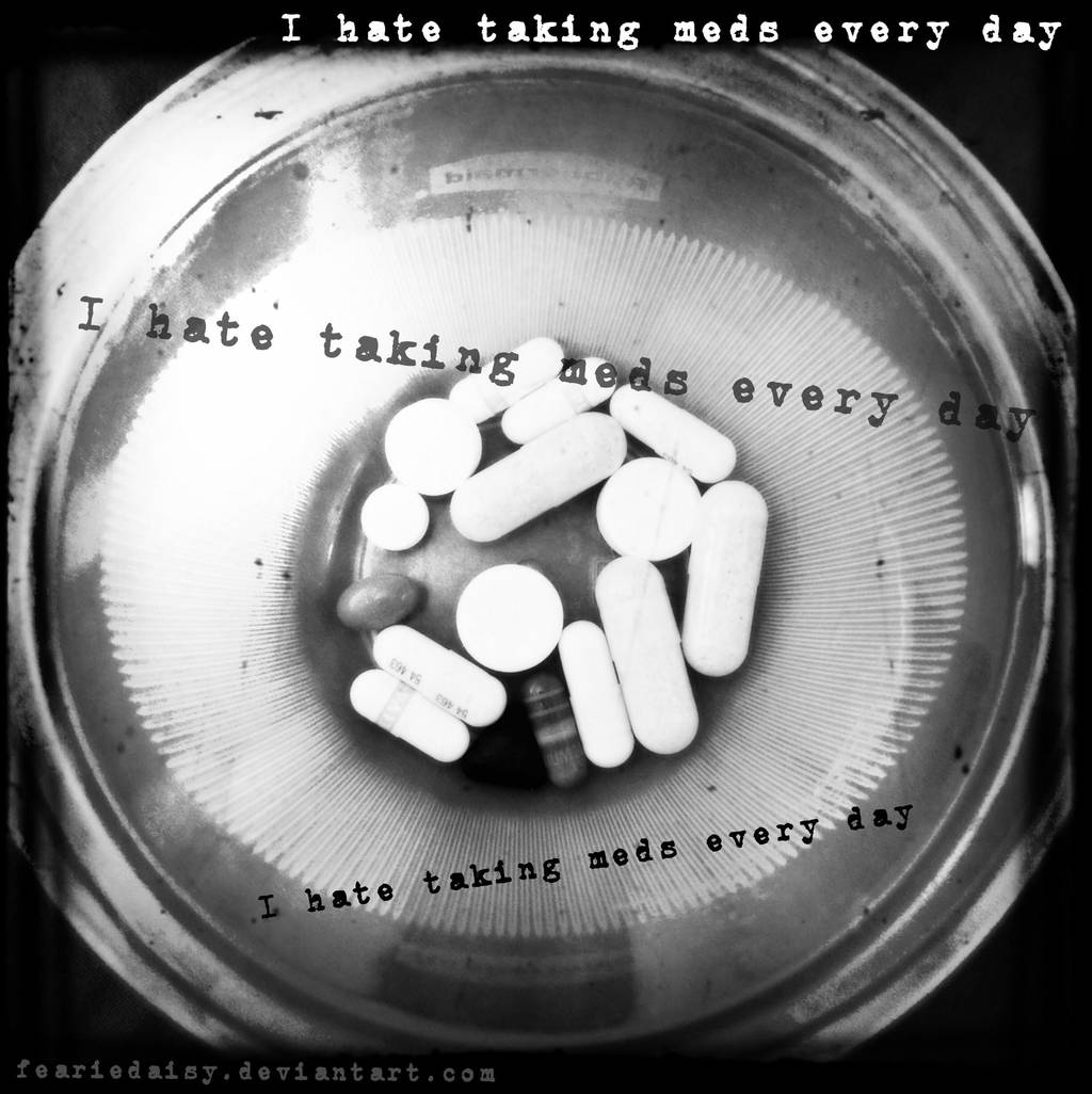 My Meds by feariedaisy