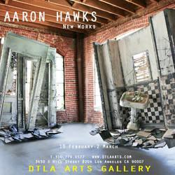 New Works by Aaron-Hawks