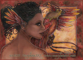 Phoenix by MarjoleinART
