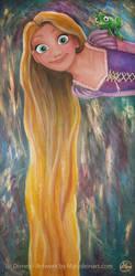 Rapunzel by MarjoleinART