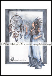 Dreamcatcher by MarjoleinART