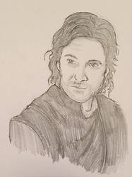 Guy of Gisborne - Pencil Sketch by eugeal