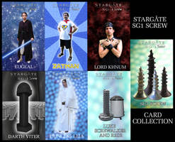 Screw Wars trading cards by eugeal