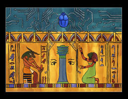 The temple of Khnum by eugeal
