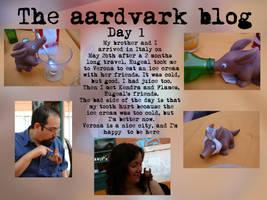 Aardvark Blog 1 by eugeal